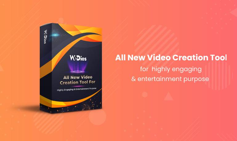 The top trending product Wedios video creation tool for highly engaging &  entertainment purpose