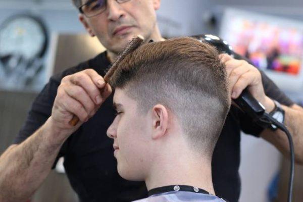 Chap Haircut