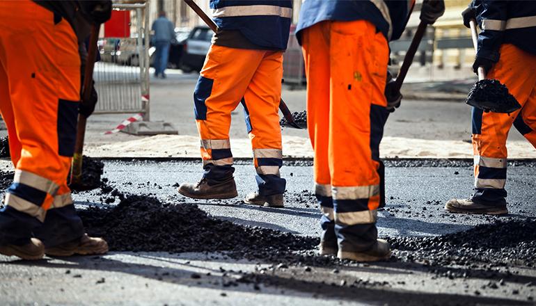 Road Construction labor
